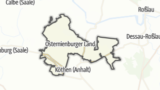 地图 / Osternienburger Land