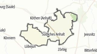Carte / Südliches Anhalt