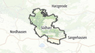 Cartina / Südharz