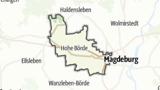 地图 / Hohe Börde