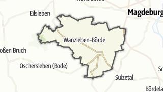 地图 / Wanzleben-Börde