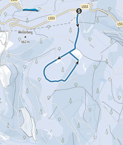 Karte / Knülle-Loipe