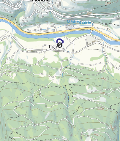 Map / Lago di Tesero PS