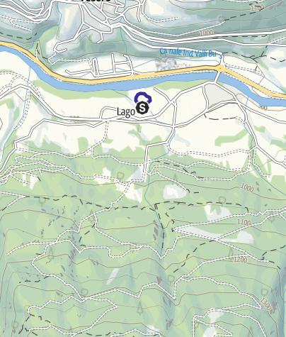 Karte / Lago di Tesero PS
