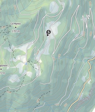Map / Laghetto dell'altipiano di Musiera PS