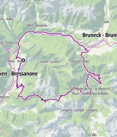 Map / Passo delle Erbe