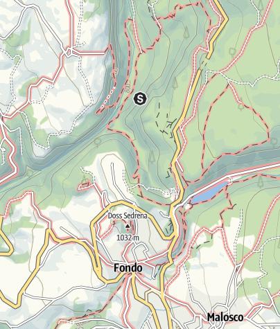 Cartina / Falesia Muro Maestro - 17 vie dal 6a+ al 7c+
