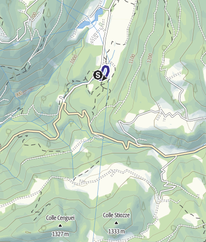 Mappa / Lago Welsperg PS