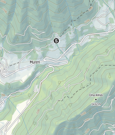 Map / Rifugio Lozen (Canal S. Bovo) PS