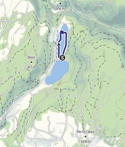 Cartina / Lago di Tavon PS