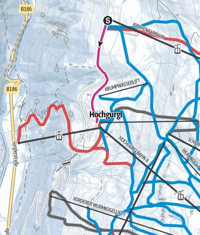 Map / HOCHGURGL - Top Mountain Crosspoint