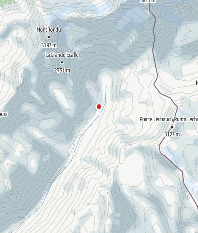 Karte / Refuge des Mottets