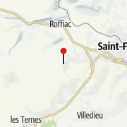 Mapa / Les Gîtes Bon Air