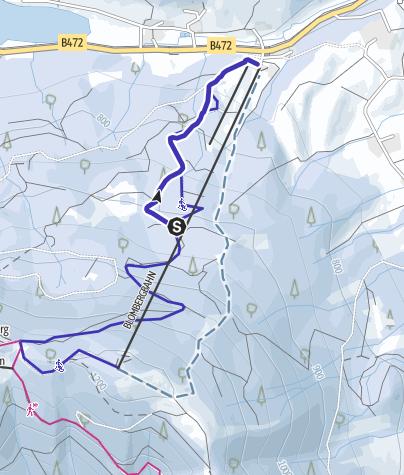 Karte / Blomberg Winterrodelbahn