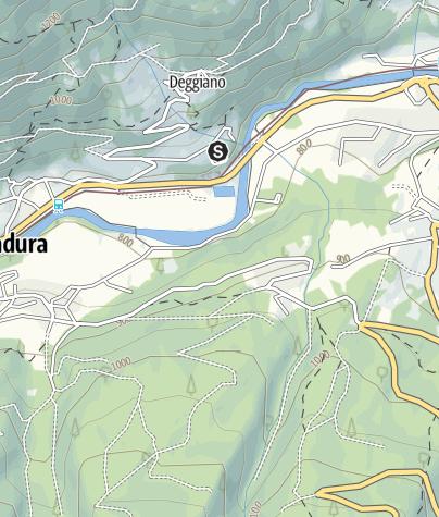 Cartina / Pesca sportiva Commezzadura- Dimaro