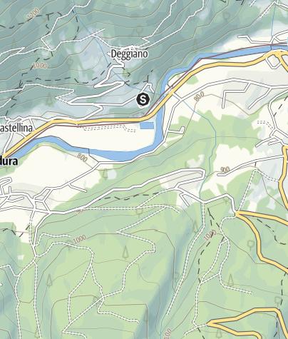 Mappa / Pesca sportiva Commezzadura- Dimaro