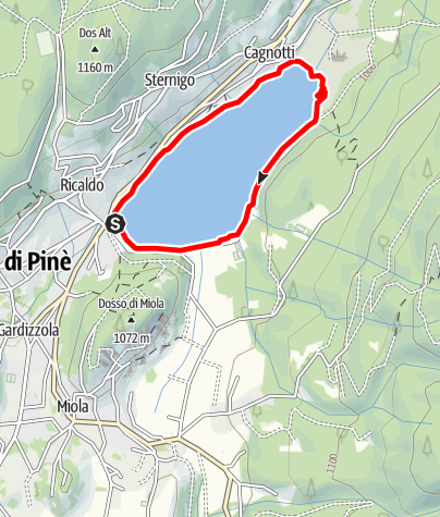 Map / Lago di Serraia