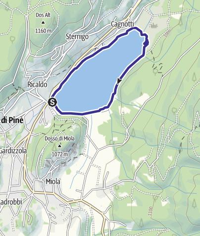 Cartina / Lago di Serraia