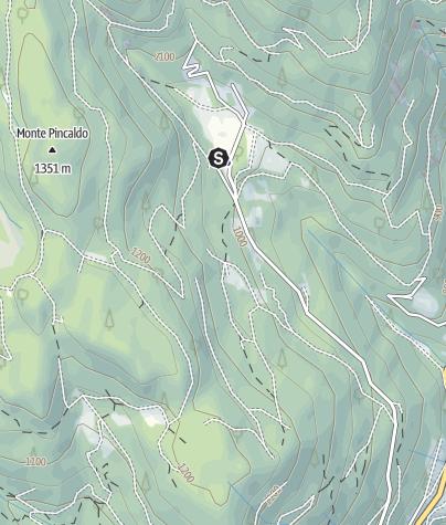 Map / Località Ponciach (Faver)