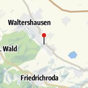 Karte / Salzmannschule Schnepfenthal