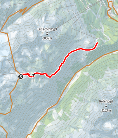 Map / Fernar Trail 6041