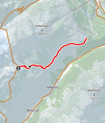 Karte / Fernar Trail 6041