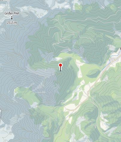 Karte / Fuchsgabel-Jagdhütte ~1170m
