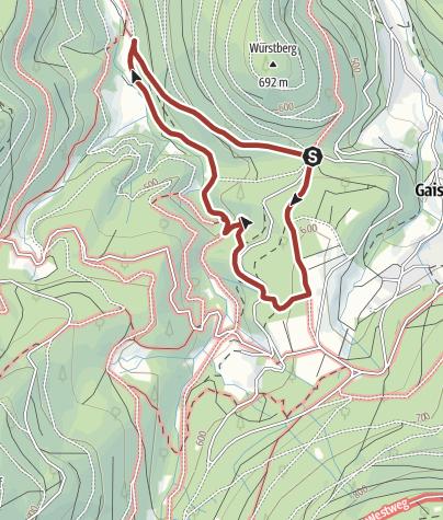 Karte / GeoTour Bad Herrenalb