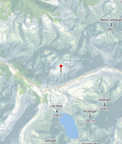 Karte / Kaiser Max Hütte