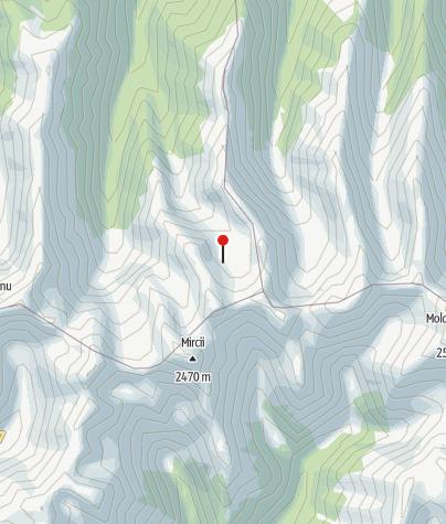 Karte / Podragu-Berghütte, 2095 m