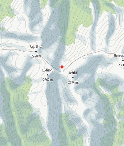 Karte / Refugiul Curmaturii Bratile, 2120 m