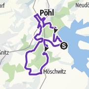 Karte / Talsperre Pöhl Trail ⭐️