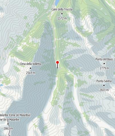 Karte / Posto tappa di San Giacomo