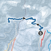 Karte / Zur Bachlalm am Fuß der Dachsteinsüdwand