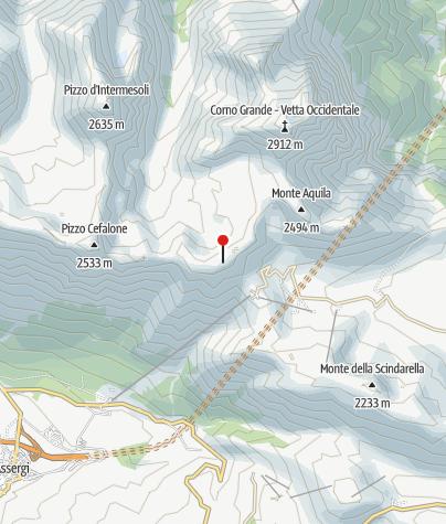 Karte / Rifugio Duca degli Abbruzzi