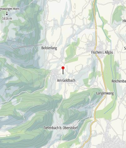 Carte / Ort der Besinnung in Obermaiselstein