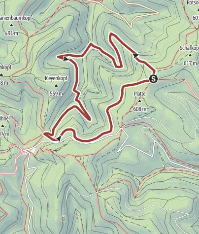 Karte / St. Martin - Quellenwanderweg