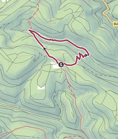 Karte / Forsthaus Annweiler Rundwanderweg 5 durch das Eiderbachtal