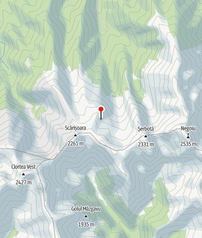 Karte / Refugiul Scara, 2120 m