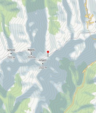 Karte / Refugiul Caltunsee neu, 2150 m