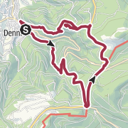 Karte / Rundtour Bühlertal – Gertelbach-Wasserfälle – Falkenfelsen