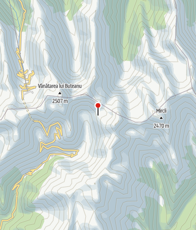 Karte / Refugiul Salvamont / Fereastra Zmeilor, 2045 m