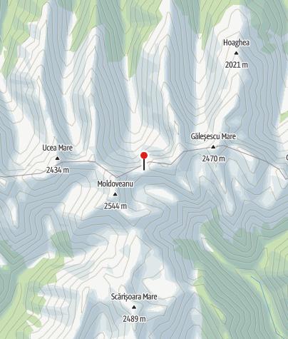 Karte / Refugiul Viștea Mare, 2274 m