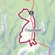 Karte / Rundwanderung - Panoramaring Frauenwald - Thüringer Wald