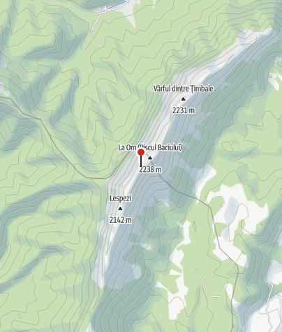 Karte / Refugiul Saua Grindului, 2167 m