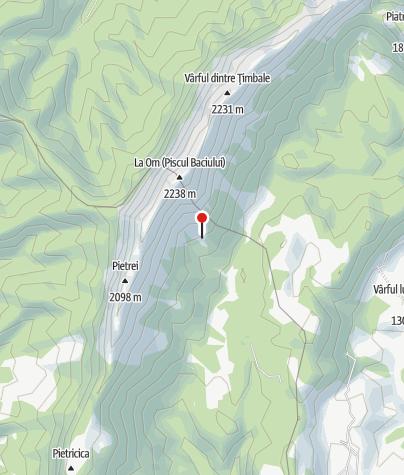 Karte / Refugiul Grind,1603 m