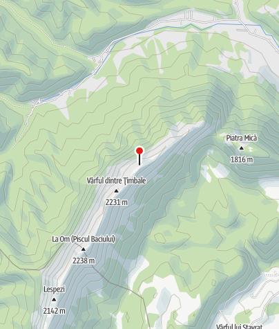 Karte / Refugiul Ascuțit, 2107 m