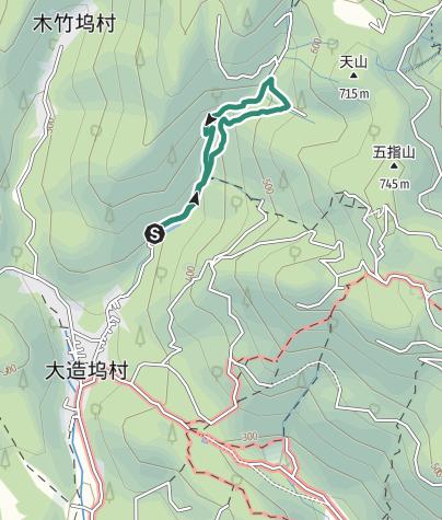 地图 / 莫干山附近小瀑布