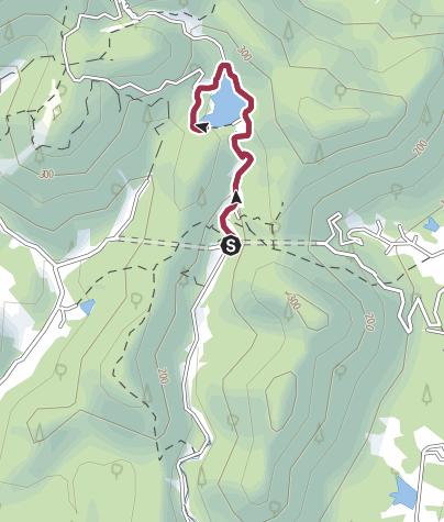 地图 / 莫干山石颐寺水库徒步路线