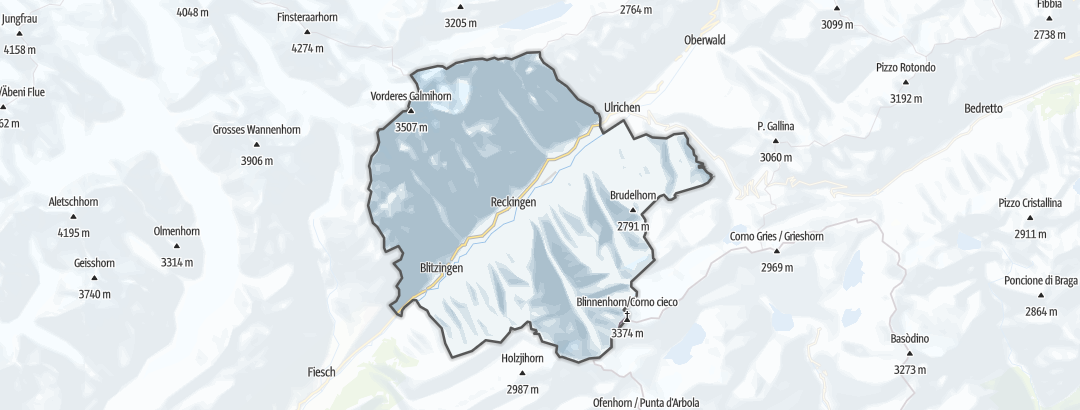 Map / Running in Goms